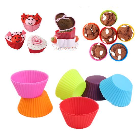 Non-Stick Heat Resistant Silicone Muffin/Cupcake Baking Pan Cake Baking Molds