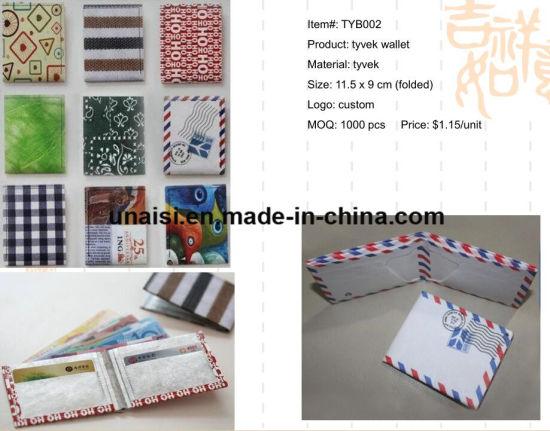china eco friendly washable kraft paper full printing tyvek bifold