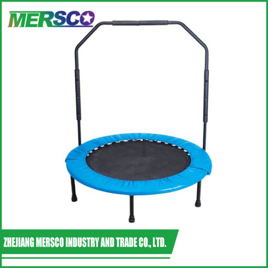 a32e851377ff8 Fitness Gym Equipment Indoor Mini Adults Trampoline with Handle Bar