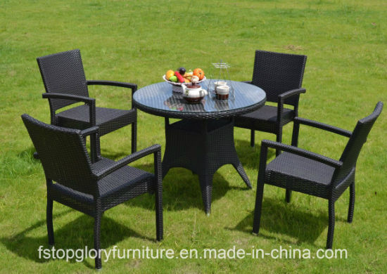 China New Design Rattan Tea Table Chair Set Outdoor Garden Furniture ...