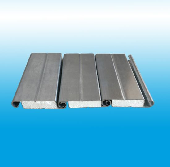 China Insulated Double Skin Galvanzied Steel Roller