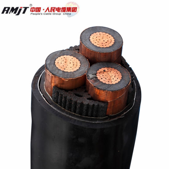 XLPE Insulated Copper Conductor PVC/XLPE Insulated Power Cable Yjv Yjv22 Yjv32 Cable pictures & photos