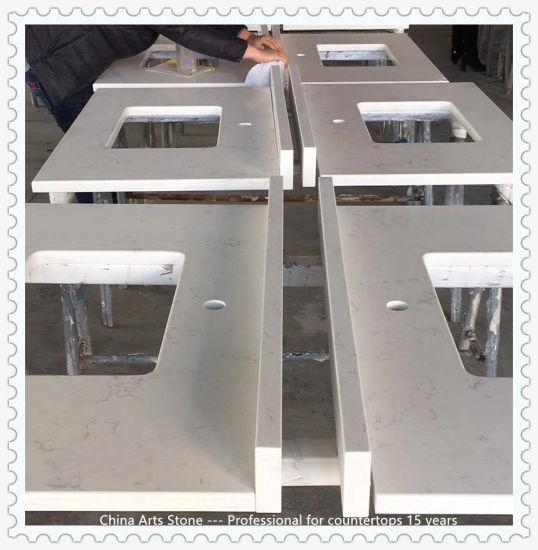 China Wholesale Artificial Glass Quartz Stone for Slabs, Countertop and Tile (no quartz anti-dumping duty for USA market)