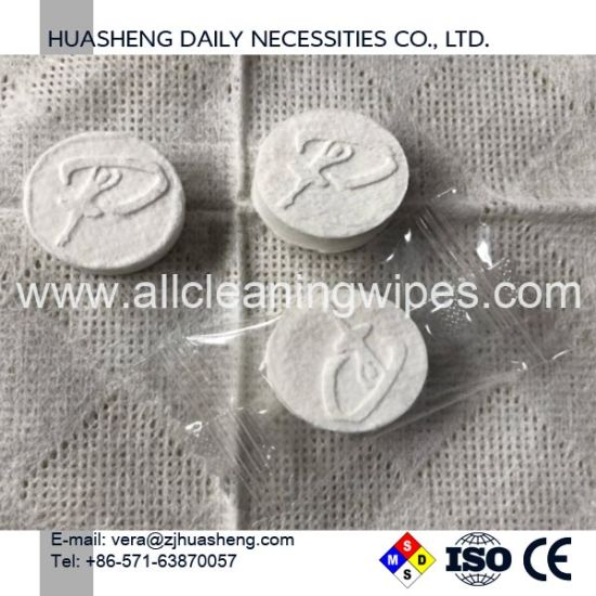 Multi-Purpose Wipes,Compressed Coin Tissues,Biodegradable Wipes,Disposable Min
