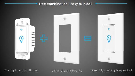 China Smart Light Switch Works with Google Home Alexa - China Smart