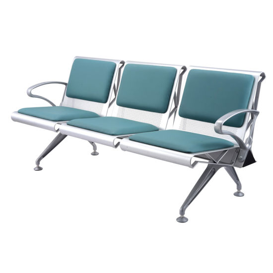 Low Back Waiting Lounge Seats with Headrest for Airport Terminal Passengers