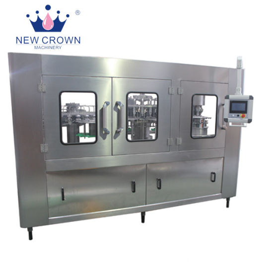 Intergrated Monoblock 5L Pet Bottled Water Filling Machine in Stainless Steel