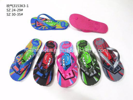 e318b66c712bc Children Slippers Beach Sandals Outdoor Flip Flops (YG828-29) pictures    photos