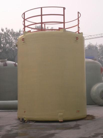 China FRP GRP Fiberglass Chemical Liquid or Water Vessel