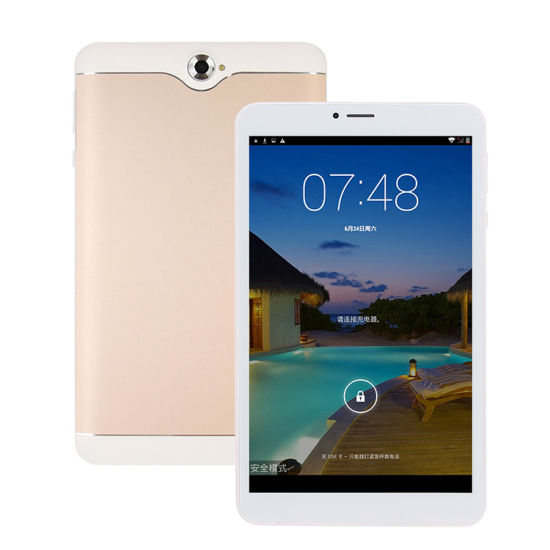 Customized 8 Inch IPS Mtk Quad Core 3G GPS WiFi Android 6.0 Phone Call Phablet