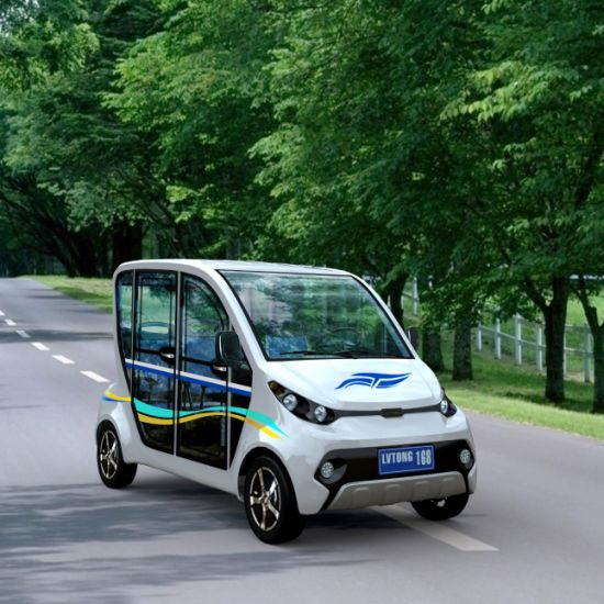 Electric Fuel Power 4 Seaters Electric Family Utility Car pictures & photos