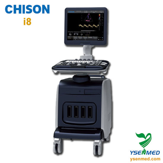 Medical Hospital Chison I8 China Mobile Trolley Color Doppler Ultrasound Machine pictures & photos