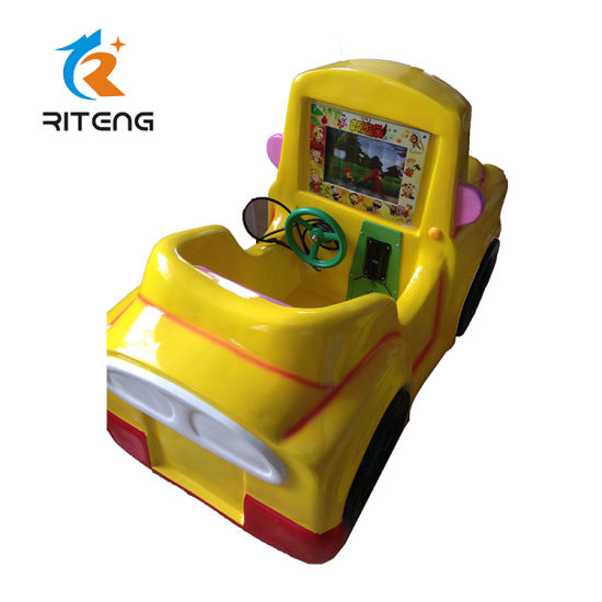Electric Car Coin Operated Swing Kiddie Ride for Amusement Game Machine