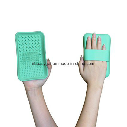Makeup Brush Cleaning Mat, Makeup Brush Cleaning Plate Esg10375 pictures & photos