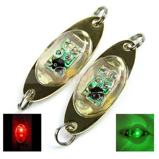 Deep Ocean 800 Meter Underwater Lure Fishing Light RGB Color Fish Eyes Strobe Lure Light pictures & photos