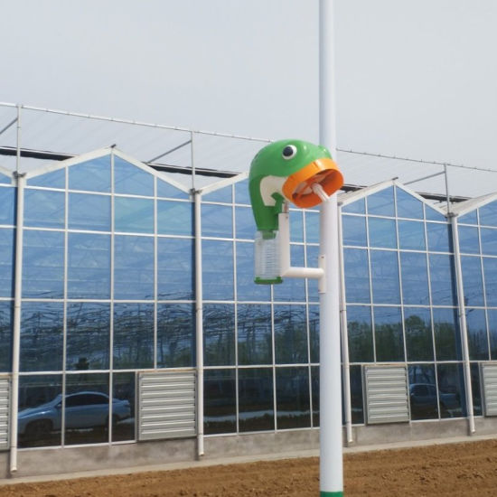 Aluminum Alloy Glass Venlo Greenhouse Customizable Glasshouse