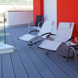 New Design WPC Flooring Modern Style for Asian Market