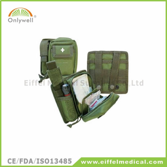 Medical Army Adventure Survival Emergency First Aid Kit pictures & photos