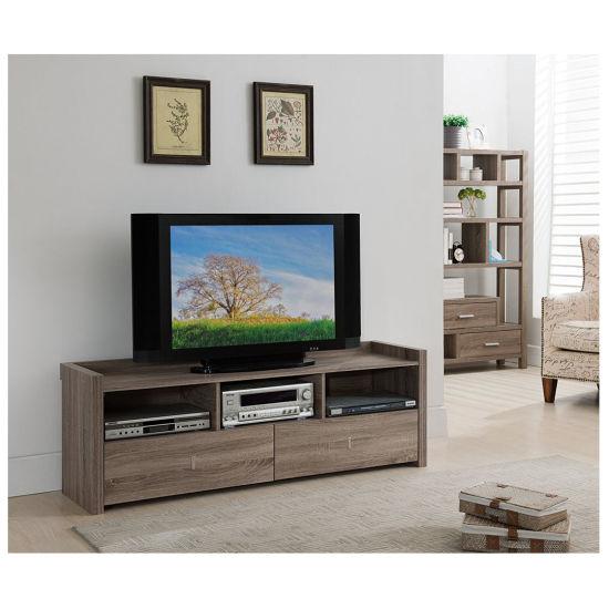Modern High Glass UV Door Living Room Furniture TV Stand