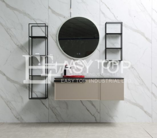 in Stock European New Design Modern Style Wall Mount Bathroom Vanity