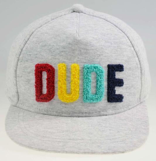 Cotton Sport Jersey Flat Snapback Cap Kids Summer Mesh Hat