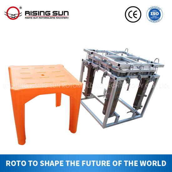 Rising Sun Custom Aluminum or Steel Rotational Molding for Plastic Stool