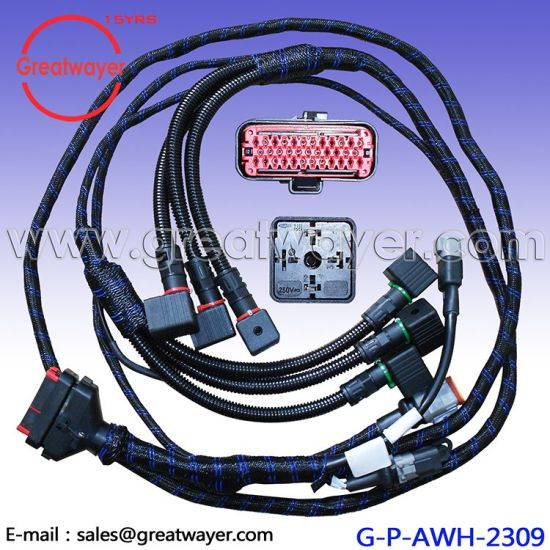 ECU 35 Pin Connector Engine Wiring Harness Truck Oil Lead Wire Harness -  China Wiring Harness, Truck Oil Lead   Made-in-China.comMade-in-China.com