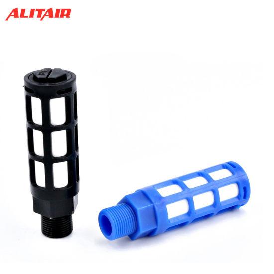 "3//8/"" PT Male Threaded Pneumatic Exhaust Noise Absorb Plastic Silencer Muffler"