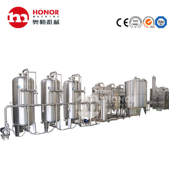 Automatic RO Reverse Osmosis Processor Precision Filter Raw Water Treatment Installation/Machine/Equipment