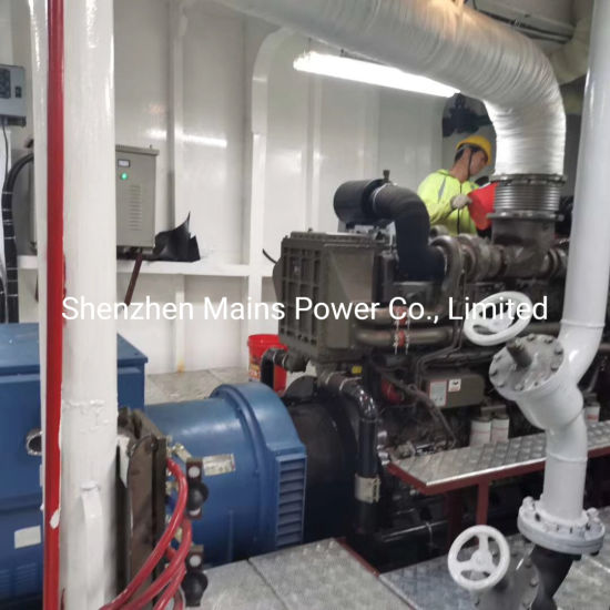 China 1600hp 1000rpm Marine Diesel Engine Propulsion 400kw Auxiliary Generator Marine System China Marine Engine Marine Diesel Engine