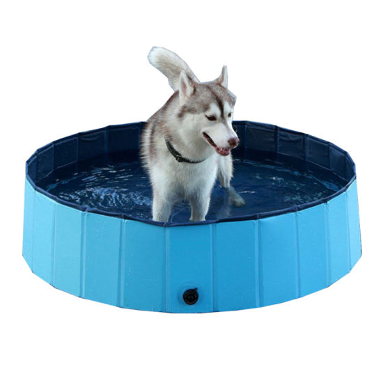 Factory Wholesale Foldable Portable Dog Pet Bath Swimming Playing Pool