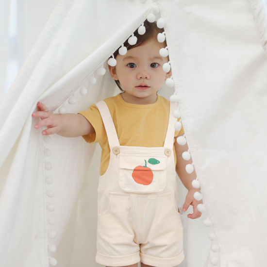 Children Clothing Leisure Summer Suit Two-Piece Overalls Baby Clothes