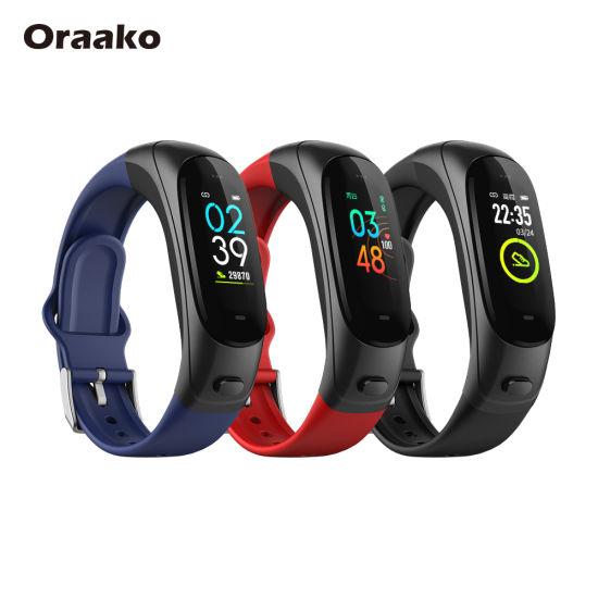 Dropshipping Ready to Ship Full Screen Wireless Wearfit ECG Fitness Sports Tracker TPU Wrist Band Smart Watch Smart Sensor Bracelet