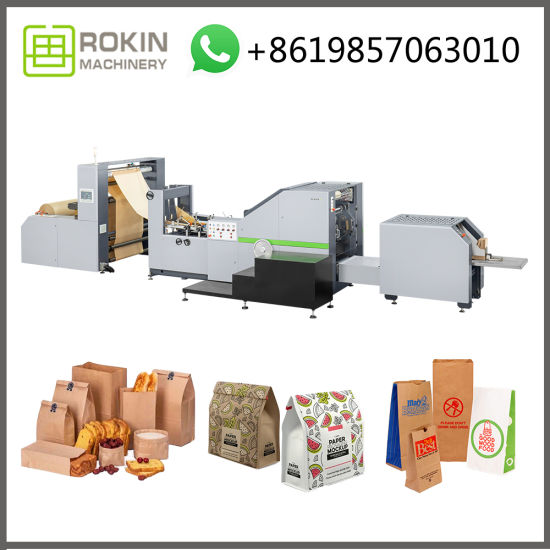 Rokin Brand French Bread Packaging Paper Bread Bag Machine