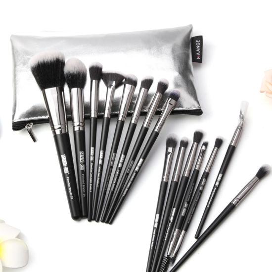 15PCS/Set Makeup Brushes Foundation Powder Face Blush Make up Brush Tool Kit