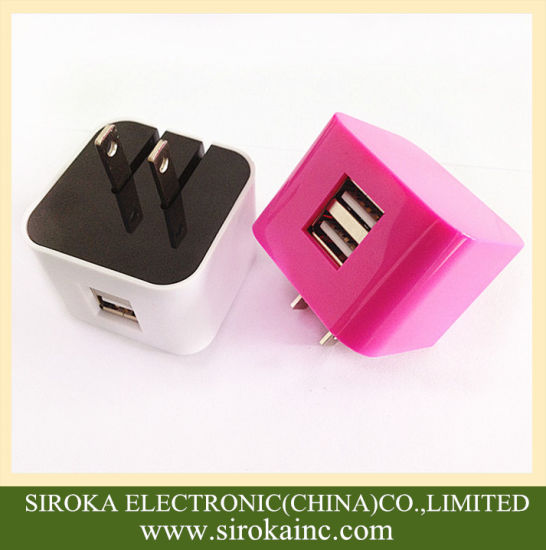 Universal 2 Dual USB Home Charger for Mobile Phone pictures & photos