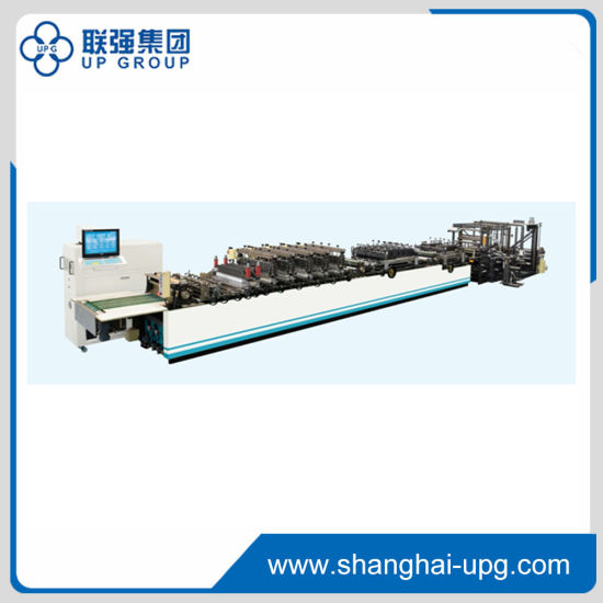 High Speed Stand-up Pouch Making Machine with Zipper (ZHP-600C)