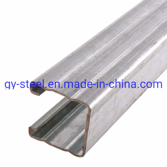 China Supplier Professional Support Steel Strut System Gi C Channel Sizes