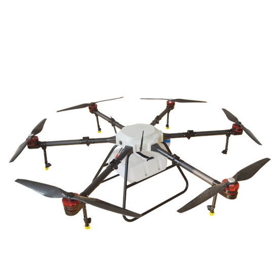 Carbon Fiber Frame Six Axis 22kg RC Agricultural Unmanned Spraying Drone pictures & photos