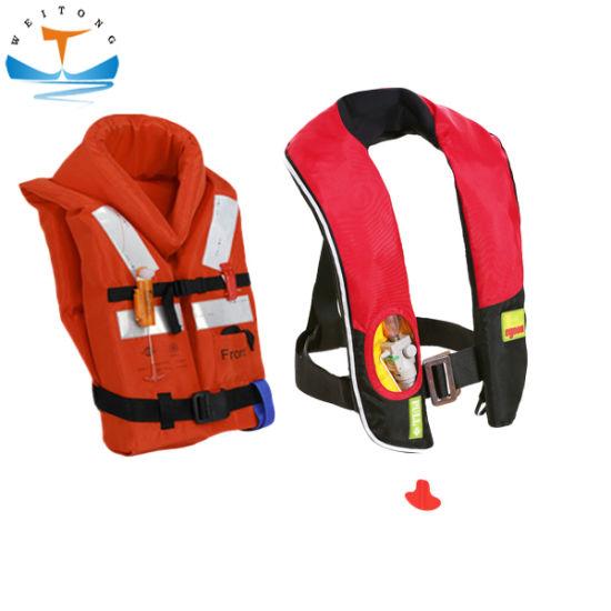 Solas Marine Foam Life Jacket Safety Work Life Vest Inflatable Lifejacket for Adult/Kid