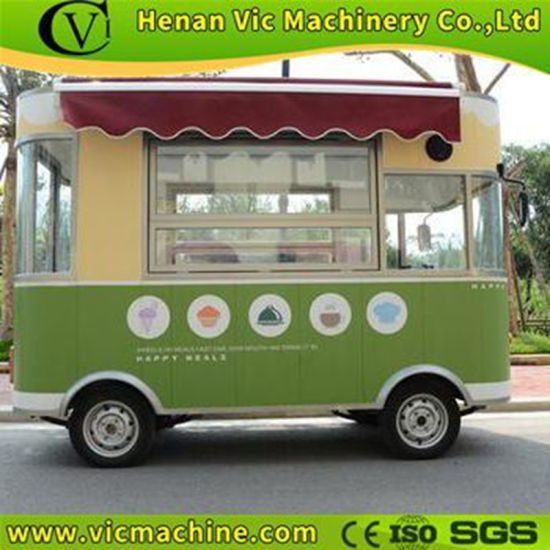 New snack kiosk electricl driven