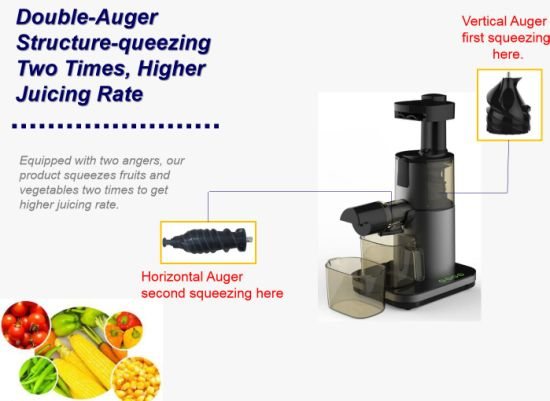 Cold Press Juicer Extractor Machine for Home