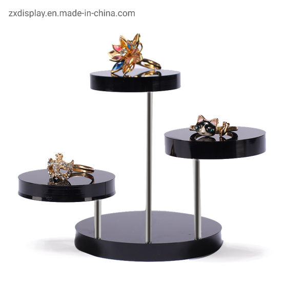 3PCS Top Grade Acrylic Display Rack for Jewellery Ring Display