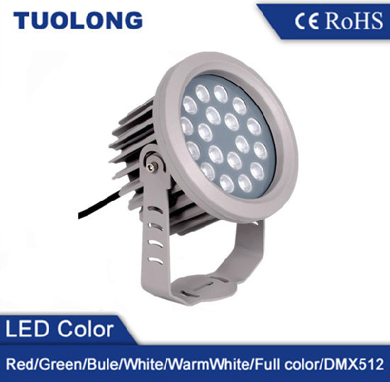 Outdoor IP65 Waterproof RGB Color Changing LED Flood Light 9W 18W 30W 36W pictures & photos