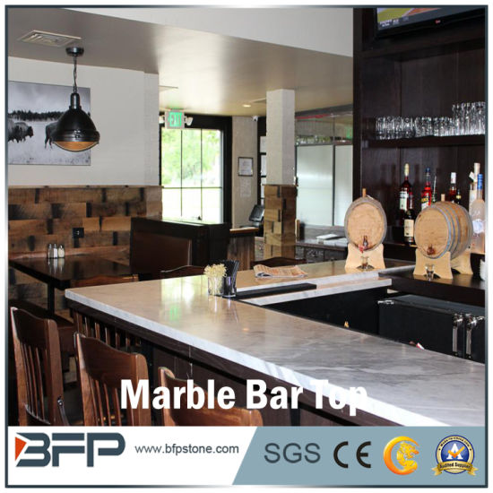 Hot White Marble Bar Top Pictures Photos
