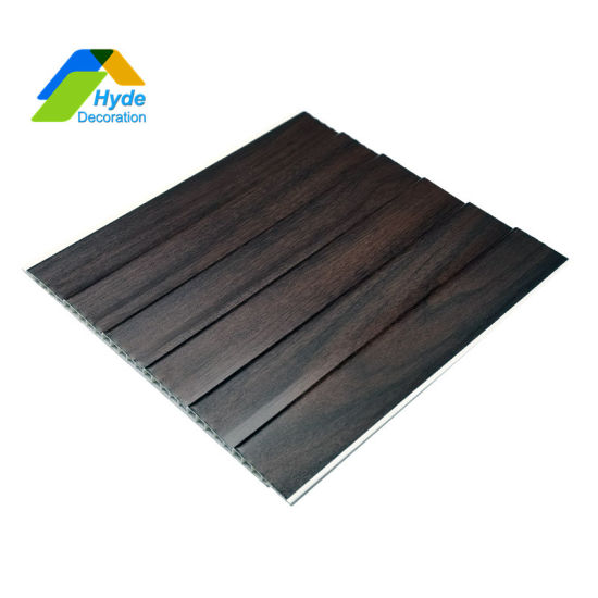 Home Decoration Quick Installation Plastic PVC Laminated Ceiling Cladding 3D Wall Panels DC-1088