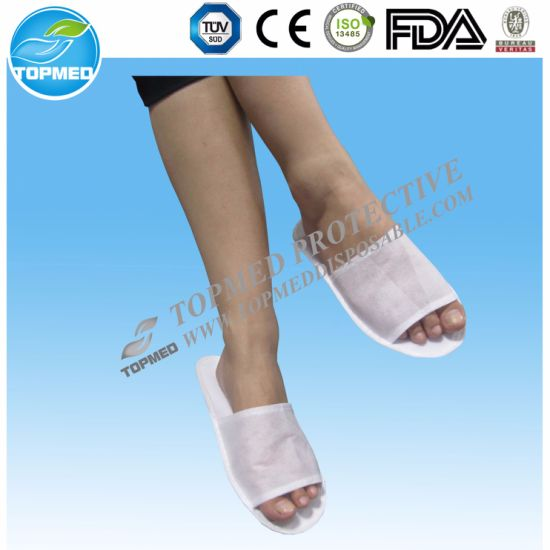 35461ba2bf5 Disposable Hotel PP EVA Nonwoven Pedicure Slippers for Wholesale pictures    photos