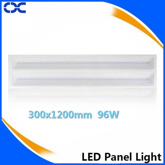 LED Grille Light Rectangle LED 300X1200mm Recessed Panel Light pictures & photos
