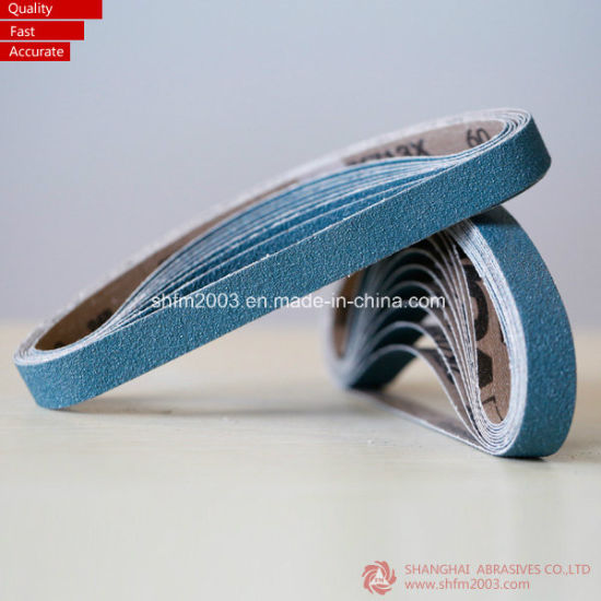 20*520mm, P80 Zirconia Abrasives Sanding Belts for Sanding Grinder (VSM distributor) pictures & photos