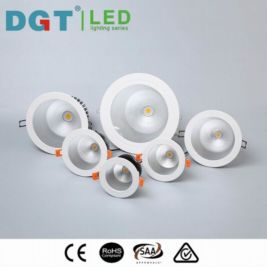 Commercial 12W Dimmable Citizen / Bridgelux LED COB Downlight pictures & photos
